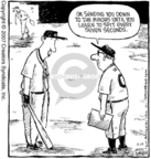 Cartoonist Dave Coverly  Speed Bump 2007-05-15 athlete