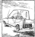 Cartoonist Dave Coverly  Speed Bump 2007-05-17 slow