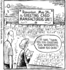 Cartoonist Dave Coverly  Speed Bump 2007-05-24 marketing