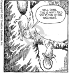 Cartoonist Dave Coverly  Speed Bump 2007-06-11 tree branch