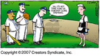 Cartoonist Dave Coverly  Speed Bump 2007-06-24 baseball player