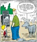 Cartoonist Dave Coverly  Speed Bump 2007-08-15 zoo
