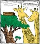 Cartoonist Dave Coverly  Speed Bump 2007-09-25 tree branch
