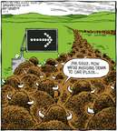 Cartoonist Dave Coverly  Speed Bump 2007-10-05 slow