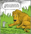 Cartoonist Dave Coverly  Speed Bump 2007-10-27 paw
