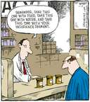 Cartoonist Dave Coverly  Speed Bump 2007-11-16 pharmacy