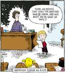 Cartoonist Dave Coverly  Speed Bump 2007-11-19 today