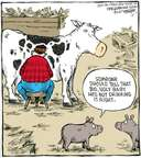 Cartoonist Dave Coverly  Speed Bump 2007-12-07 livestock