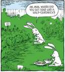 Cartoonist Dave Coverly  Speed Bump 2008-02-25 vegetable