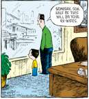 Cartoonist Dave Coverly  Speed Bump 2008-03-01 division