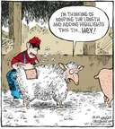 Cartoonist Dave Coverly  Speed Bump 2008-03-12 livestock