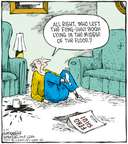 Cartoonist Dave Coverly  Speed Bump 2008-03-21 placement