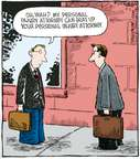 Cartoonist Dave Coverly  Speed Bump 2008-04-03 taunt