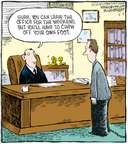 Cartoonist Dave Coverly  Speed Bump 2008-05-02 left you