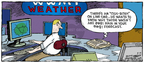 Cartoonist Dave Coverly  Speed Bump 2008-06-15 rain