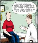 Cartoonist Dave Coverly  Speed Bump 2008-06-30 summer