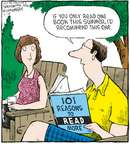 Cartoonist Dave Coverly  Speed Bump 2008-07-16 summer