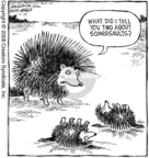 Cartoonist Dave Coverly  Speed Bump 2008-07-19 wildlife