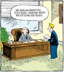 Cartoonist Dave Coverly  Speed Bump 2008-08-19 rule