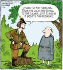 Cartoonist Dave Coverly  Speed Bump 2008-09-24 forest