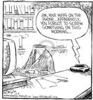 Cartoonist Dave Coverly  Speed Bump 1999-12-06 slow