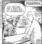Cartoonist Dave Coverly  Speed Bump 2003-03-05 pharmacy
