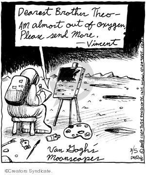 Comic Strip John Deering  Strange Brew 2008-03-05 exploration