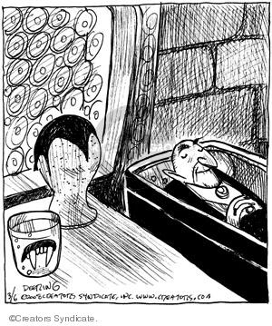 Cartoonist John Deering  Strange Brew 2008-03-06 novel