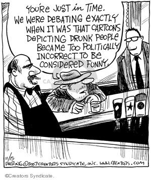 Comic Strip John Deering  Strange Brew 2007-11-15 topic