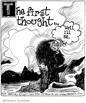 Comic Strip John Deering  Strange Brew 2007-11-17 strange