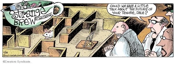 Comic Strip John Deering  Strange Brew 2007-11-18 scientist