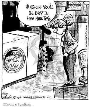 Comic Strip John Deering  Strange Brew 2007-11-20 strange