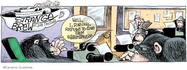 Comic Strip John Deering  Strange Brew 2007-11-25 statistic