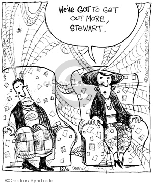 Comic Strip John Deering  Strange Brew 2007-12-06 marriage