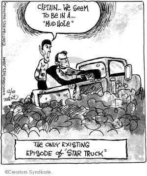Comic Strip John Deering  Strange Brew 2007-12-10 science