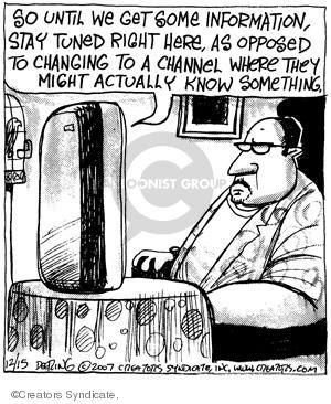 Comic Strip John Deering  Strange Brew 2007-12-15 news