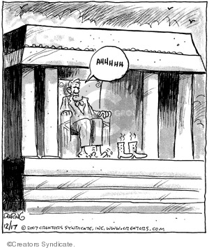 Comic Strip John Deering  Strange Brew 2007-12-17 footwear