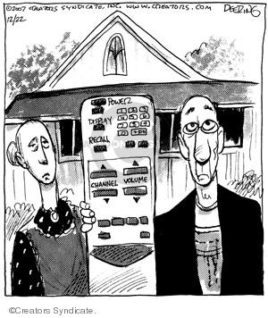 Comic Strip John Deering  Strange Brew 2007-12-22 paint