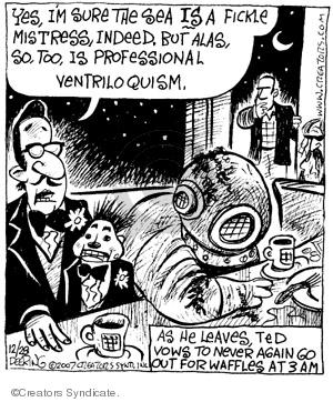 Comic Strip John Deering  Strange Brew 2007-12-28 strange