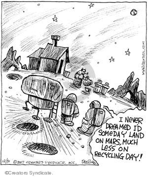 Comic Strip John Deering  Strange Brew 2007-12-31 strange