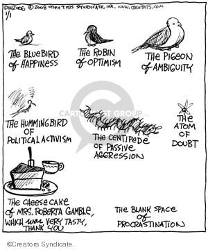 Cartoonist John Deering  Strange Brew 2008-01-01 aggression
