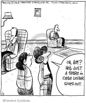 Comic Strip John Deering  Strange Brew 2008-01-03 strange