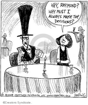 Comic Strip John Deering  Strange Brew 2008-01-11 top hat