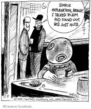 Comic Strip John Deering  Strange Brew 2008-01-19 health