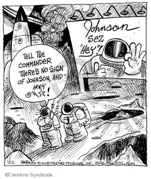 Comic Strip John Deering  Strange Brew 2008-01-22 exploration