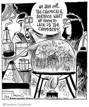 Comic Strip John Deering  Strange Brew 2008-01-23 scientist