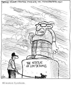 Comic Strip John Deering  Strange Brew 2008-01-25 law