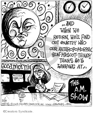 Comic Strip John Deering  Strange Brew 2008-02-11 news