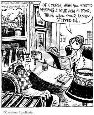 Comic Strip John Deering  Strange Brew 2008-02-16 brew