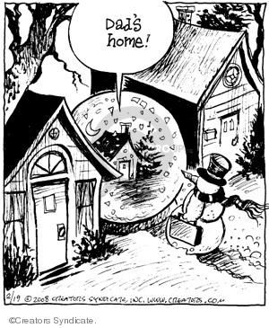 Comic Strip John Deering  Strange Brew 2008-02-19 family
